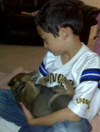 6. Puppy love (see #5)
